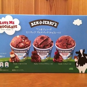 BEN&JERRY'S ベン&ジェリーズ ミニカップ アイス マルチパック(チョコレート)