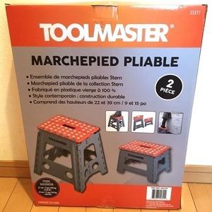 TOOLMASTER ステップツール2個