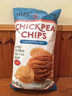 Maya Kaimal Chickpea Chips(ひよこ豆チップス 薄塩味)