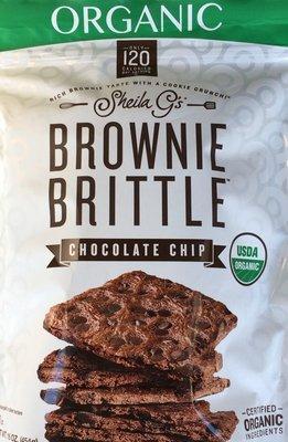 SHEILA オーガニック ブラウニー ブリトル チョコレートチップ