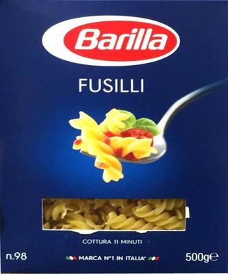 Barilla FUSILLI No.98 バリラ フジリ