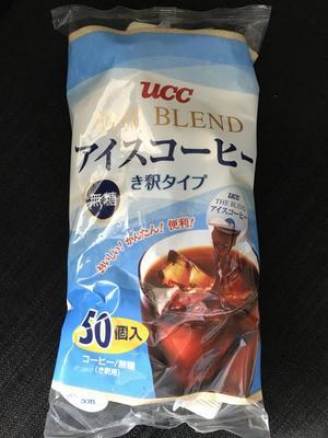 UCC上島珈琲 THE BLEND アイスコーヒー(無糖)