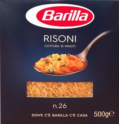 Barilla RISONI No.26 バリラ リゾーニ