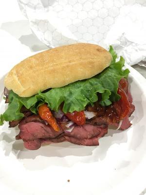 コストコ  ローストビーフサンドイッチ