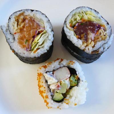 (名無し)さん[5]が投稿したカークランド 寿司サラダ巻きの写真