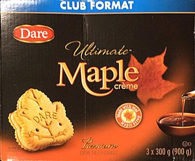 DARE FOODS LIMITED メープルクッキー