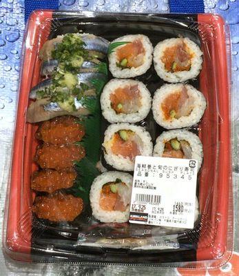 カークランド 海鮮巻と旬のにぎり寿司