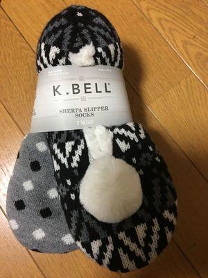 K.BELL スリッパソックス 2P
