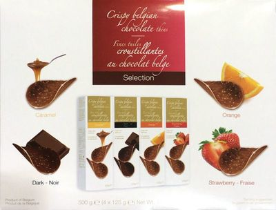 ハムレット クリスピー ベルギー チョコレート シンズ  4フレーバー アソート