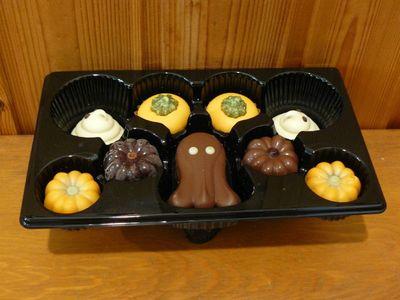 (名無し)さん[5]が投稿したベルジャン スペシャリティー ハロウィン チョコレート ボックスの写真