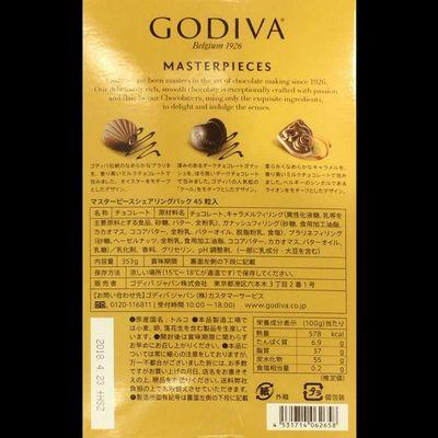 (名無し)さん[3]が投稿したゴディバ マスターピース シェアリングパックの写真
