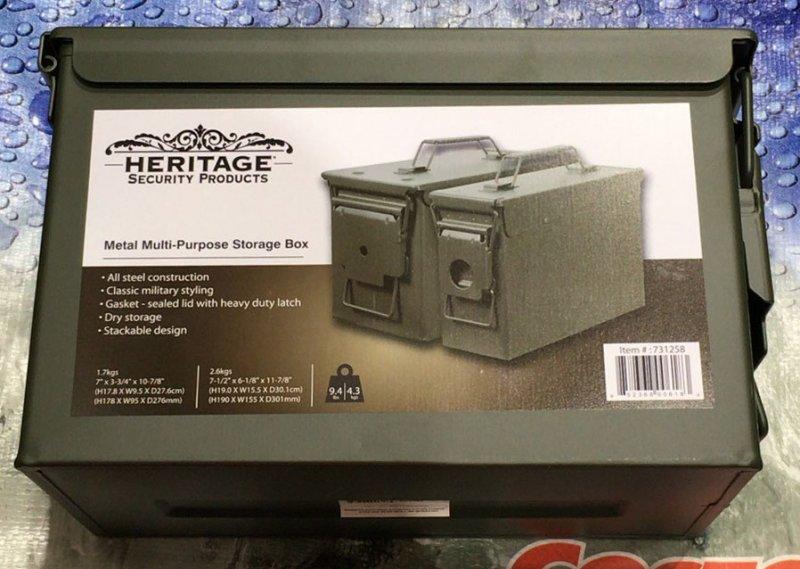 [1]が投稿したHERITAGE SECURITY PRODUCTS アンモボックス 2個セットの写真