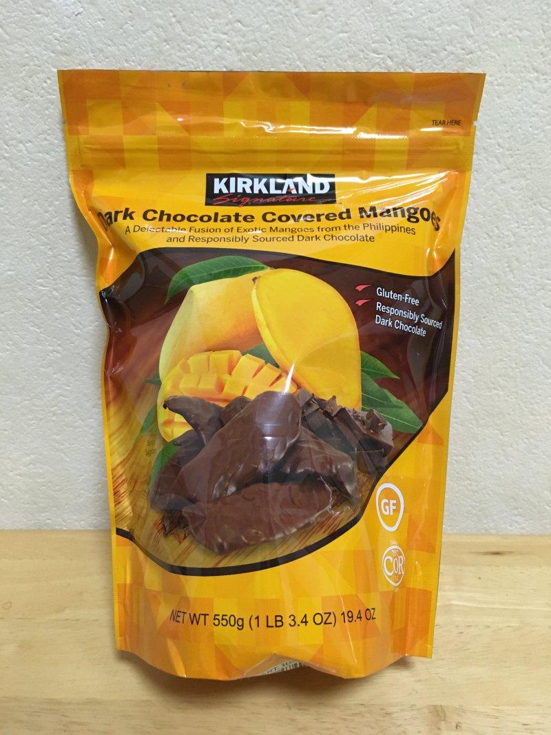 [1]が投稿したカークランド ダークチョコレート カバード マンゴーの写真