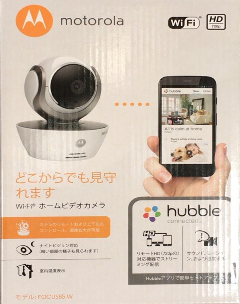 [1]が投稿したモトローラ Wi-Fi ホームビデオカメラ FOCUS85-Wの写真
