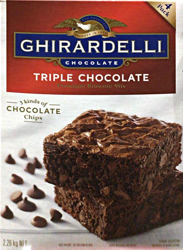 [39]が投稿したGHIRARDELLI(ギラデリ)  トリプルチョコレート ブラウニーミックスの写真