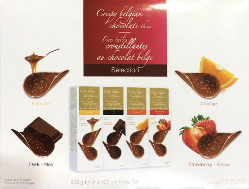[2]が投稿したハムレット クリスピー ベルギー チョコレート シンズ  4フレーバー アソートの写真