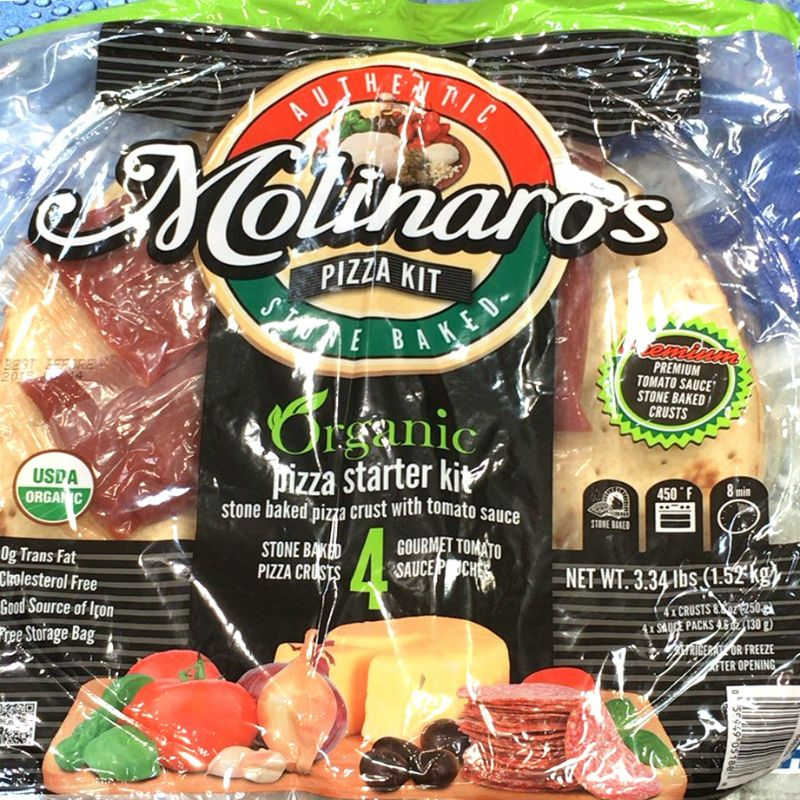 [2]が投稿したMOLINAROS オーガニックピザキットの写真