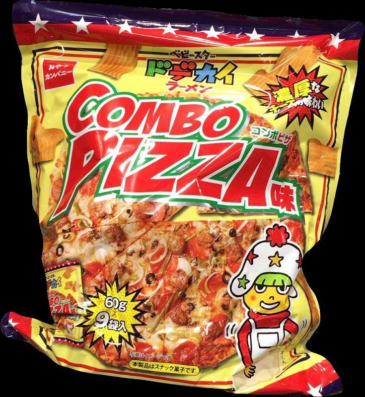 [2]が投稿したおやつカンパニー×コストコ ベビースター ドデカイラーメン コンボピザ味の写真