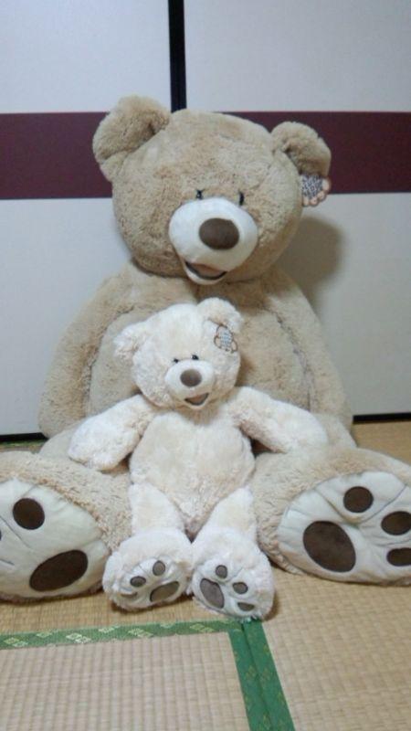 七条さん[7]が投稿したクマのぬいぐるみ(約134cm 大きめサイズ)の写真