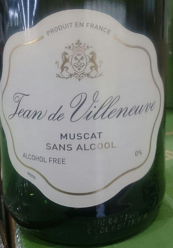 kawasakiさん[50]が投稿したジャン ドゥ ヴィルヌーヴ ノンアルコール スパークリングワイン (ミュスカ)の写真