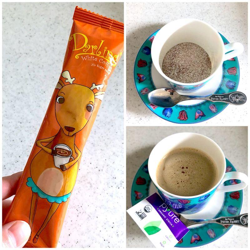 ひとまさん[6]が投稿したDARLING WHITE COFFEE インスタントコーヒーの写真