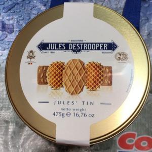 ジュールス・デストルーパー ベルギーアソートクッキー ゴールド缶