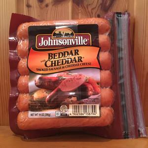 Johnsonville ジョンソンヴィル ベダーウィズチェダー ソーセージ