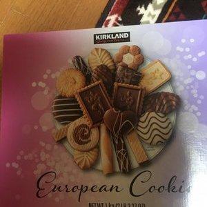 カークランド ヨーロピアンクッキー
