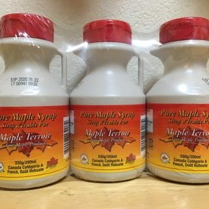 Maple Terroir Products ピュア メープルシロップ 3PK
