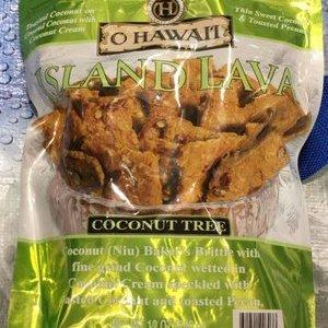 O HAWAII アイランド ラバ ココナッツツリー