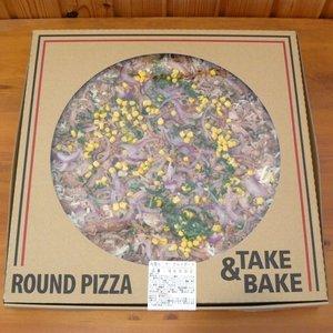 カークランド 丸型ピザ ザ プルドポーク