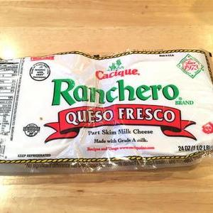 Ranchero Queso Fresco 低脂肪乳チーズ