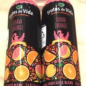 Frutos de Vida グアバ&オレンジ 100%ジュース