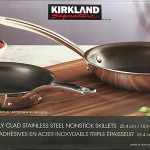 カークランド フライパン 2個セット
