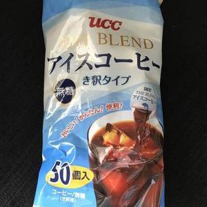 UCC The Blend アイスコーヒー ポーション IceCoffee き釈タイプ