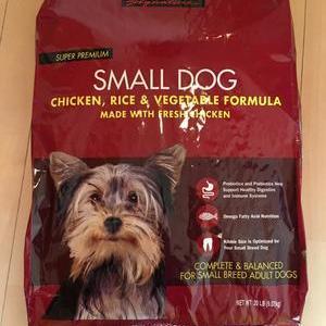 カークランド スーパープレミアムドッグフード 小型犬用 チキン&ライス&野菜