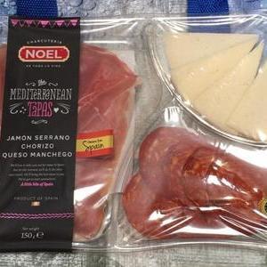 NOEL タパスプレート&マンチェゴチーズ