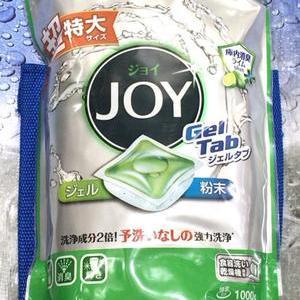 P&G JOY ジョイジェルタブ 60個 自動食器洗浄機用洗剤
