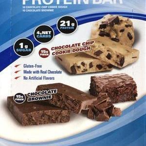 カークランド プロテインバー チョコブラウニー/チョコチップクッキー