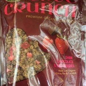NATURE'S PATH  ORGANIC  LOVE CRUNCH オーガニック ラブクランチ グラノラ ダークチョコレート&レッドベリー