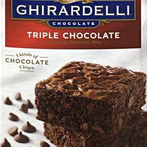 GHIRARDELLI(ギラデリ)  トリプルチョコレート ブラウニーミックス