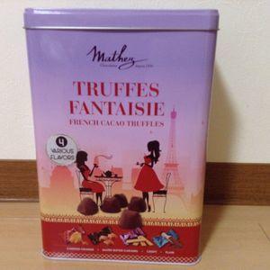 マセズ トリュフ 4フレーバー アソート Mathez Truffles 4 Flavors Assort