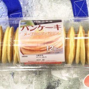 木村屋 パンケーキ メープル&マーガリン 12個入り