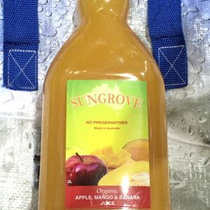 SUNGROVE オーガニック アップルマンゴーバナナ ジュース