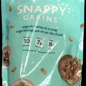 SNAPPY GRAINS 有機大麦