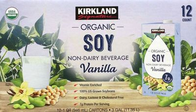 カークランド バニラ豆乳 ORGANIC SOYMILK