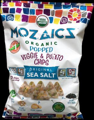 MOZAICS モザイクズ 有機 ポップ ベジー&ポテトチップス オリジナルシーソルト