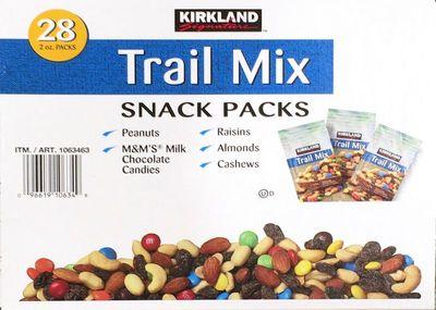 カークランド TRAIL MIX SNACK PACKS トレイルミックス スナックパック