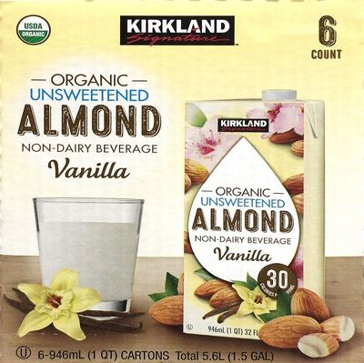 (名無し)さん[2]が投稿したカークランド アーモンドミルク バニラ味の写真