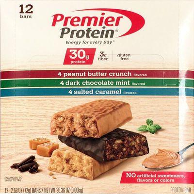 Premier Protein プレミアプロテインバー 24本パック